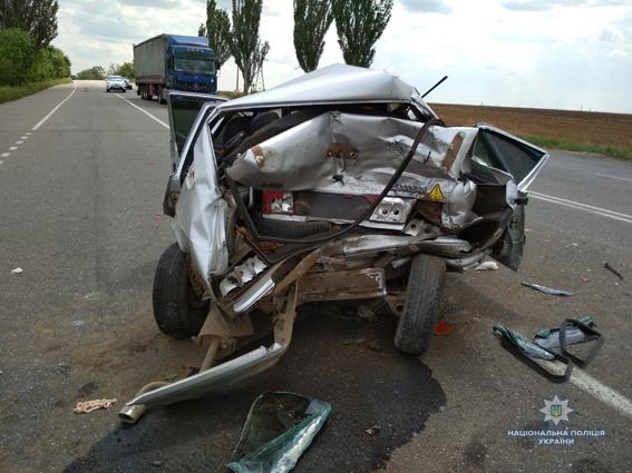Дві пасажирки постраждали під час ДТП на Миколаївщині. ФОТО