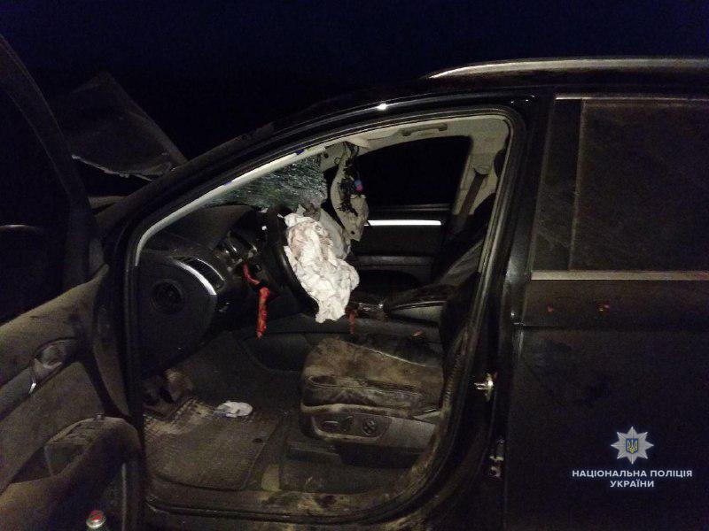 На Рівненщині «Аudi Q7» збив на смерть велосипедиста. ФОТО