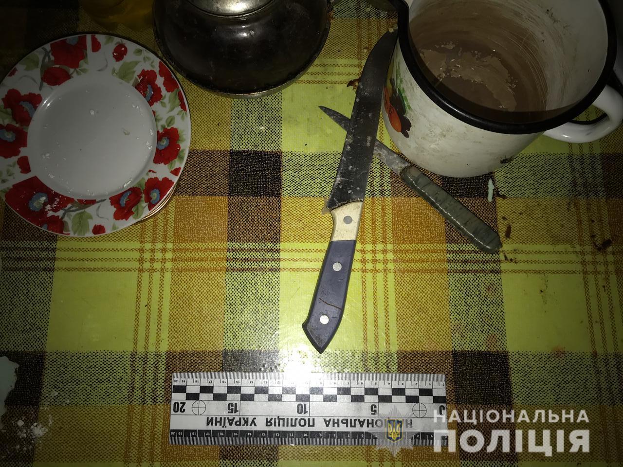На Одещині господар під час сварки встромив ножа у груди гостя