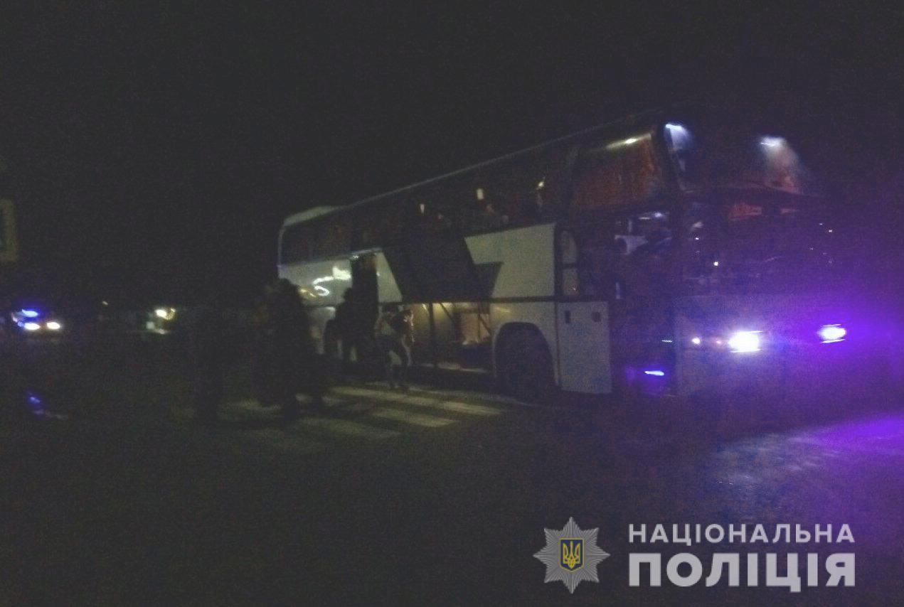 На Миколаївщині міжміський автобус збив людину насмерть