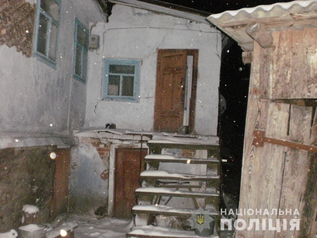 На Рівненщині рецидивіст з ножем напав на стареньку жінку. ФОТО