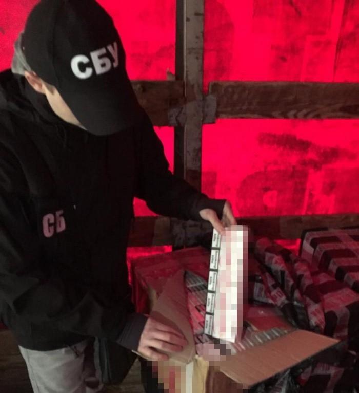 В Одесі СБУ блокувала контрабанду цигарок з Придністров`я