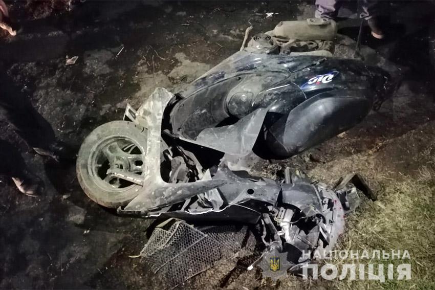 Цієї ночі на Прикарпатті після зіткнення із автомобілем загинув 15-річний скутерист
