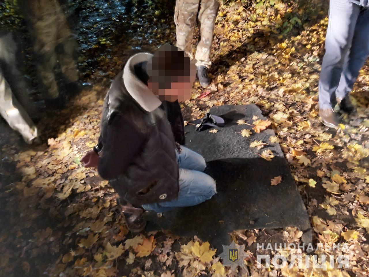 Харківська поліція затримала іноземця, який взяв участь в озброєному н