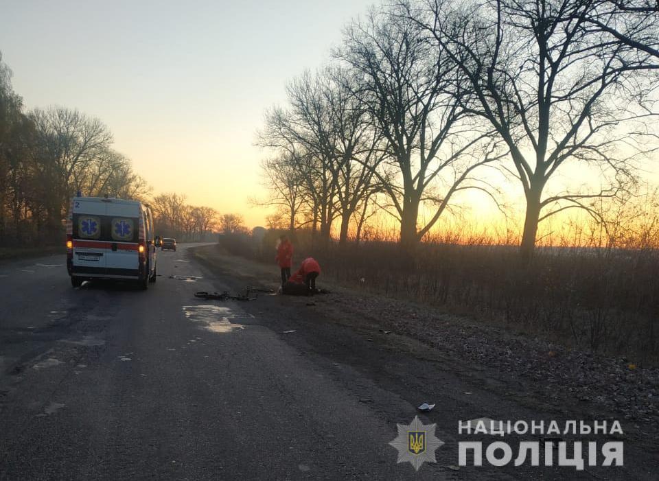 Поліція Сумщини нарешті знайшла водія, який насмерть збив людину та вт