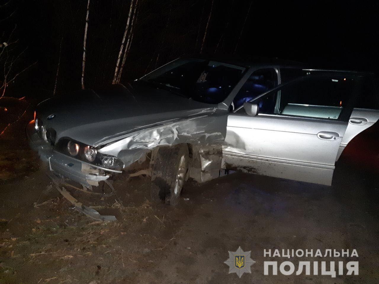 Один із водіїв постраждав під час тарану двох легковиків на Волині. ФО