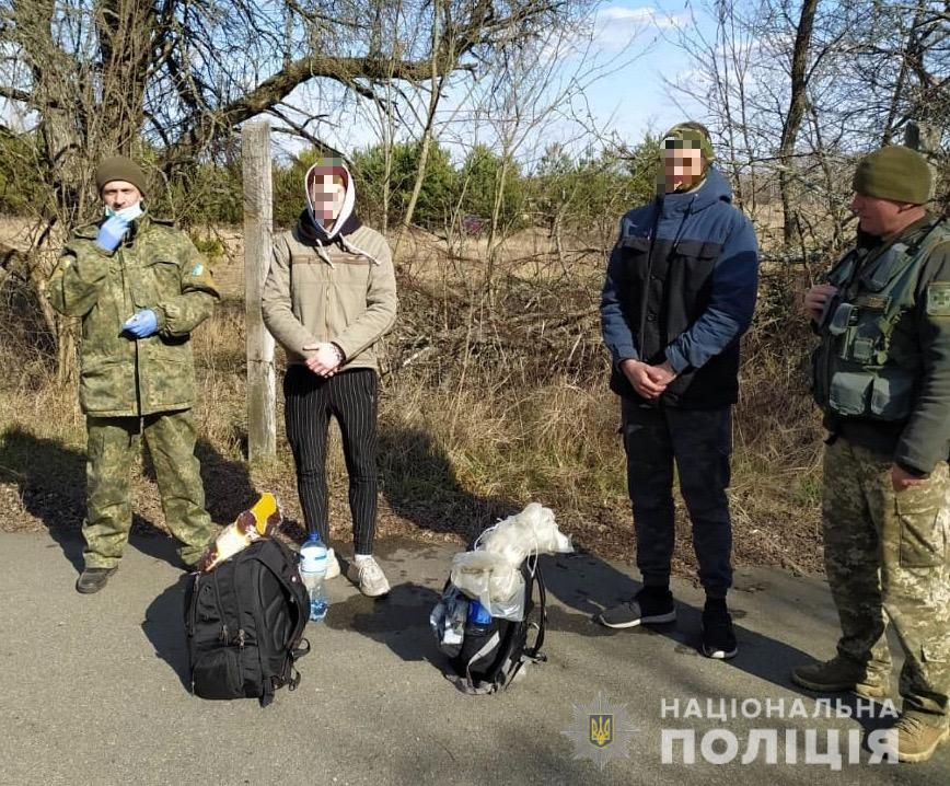 На Київщині затримано двох сталкерів, які прямували в зону відчуження