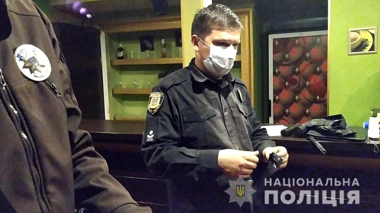 Одеські поліцейські викрили та ліквідували два підпільні гральні закла