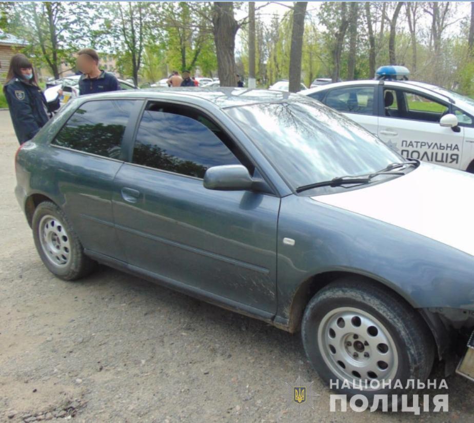 У Миколаєві затримано нетверезого водія, який напав на поліцейського
