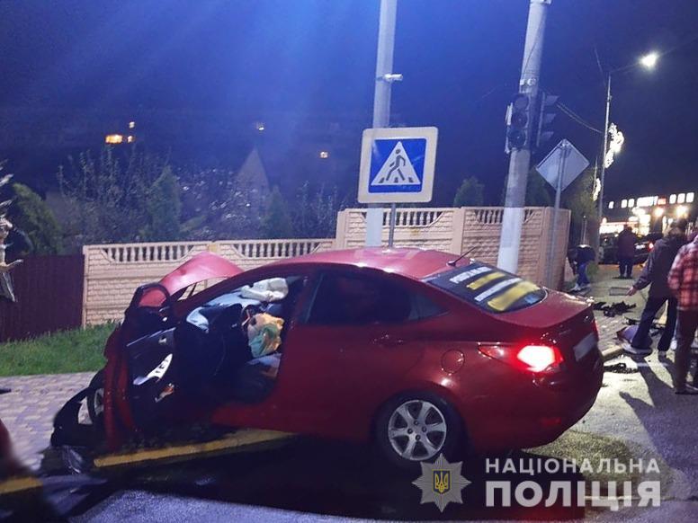 У Чабанах, що під Києвом, водій-іноземець скоїв смертельну ДТП, - полі