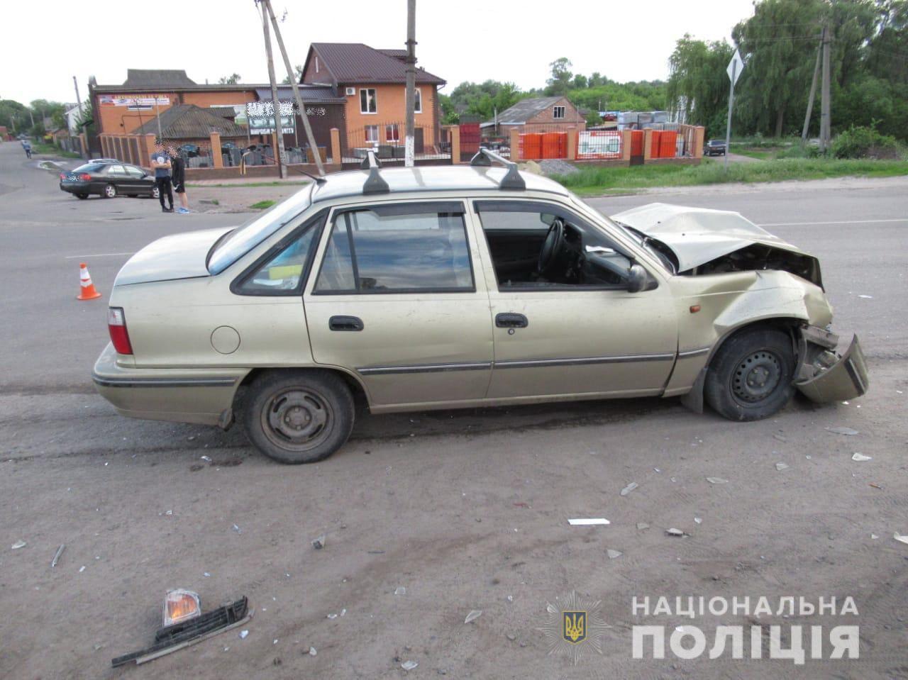 У Ромнах один із водіїв-учасників ДТП потрапив до лікарні, - поліція
