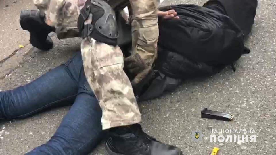 Kết quả hình ảnh cho Поліція затримала підозрюваних